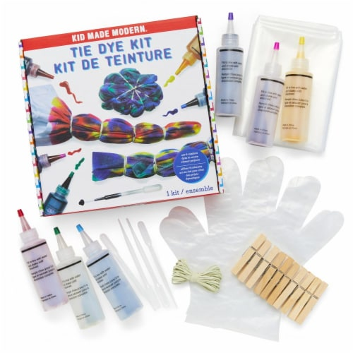 Rainbow Tie Dye Kit (6 Colors) Perspective: back