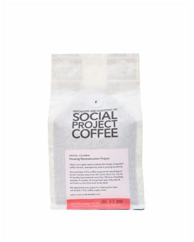 Colombia Aponte Single Origin Ground Coffee Perspective: back