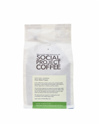 Nicaragua Santa Isabel Single Origin Ground Coffee Perspective: back