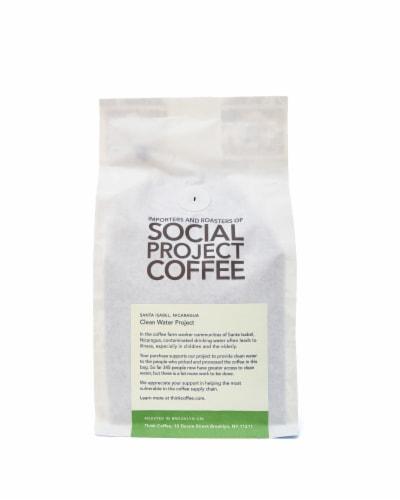 Nicaragua Santa Isabel Single Origin Ground Coffee Perspective: back