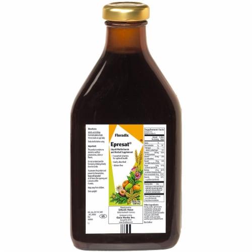 Floradix Epresat® Adult Liquid Herbal Supplement and Multivitamin Perspective: back