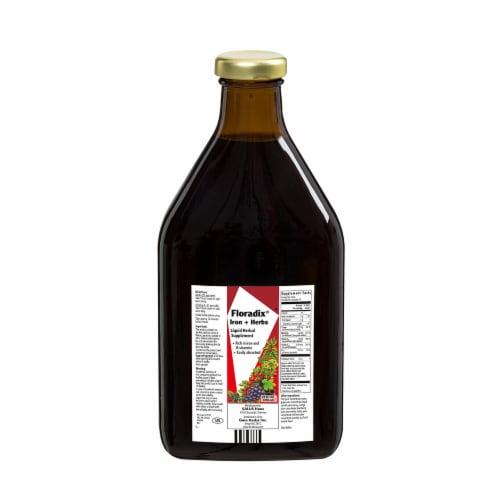 Floradix Iron + Herbs Vegetarian Liquid Herbal Supplement Perspective: back