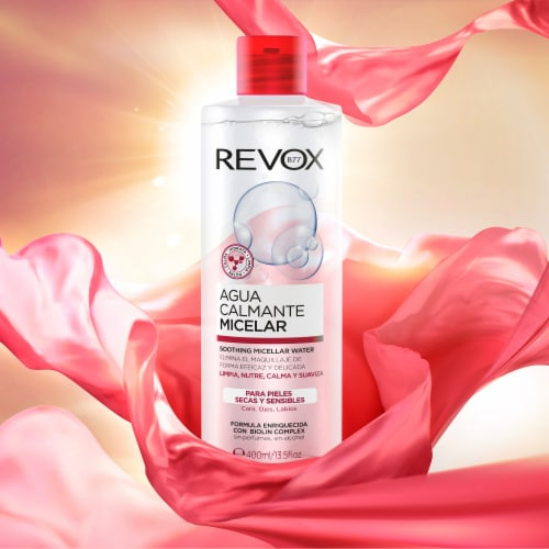 Revox Micellar Water Soothing Perspective: back