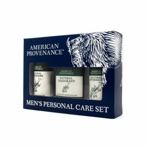 Natural Men's Gift Set; Aftershave - Shotguns & Shenanigans Perspective: back