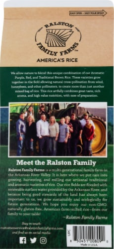 Ralston Family Farms Nature's Blend Rice Perspective: back