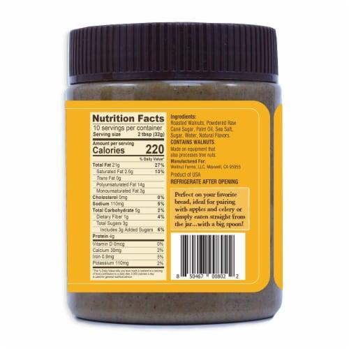 Wellnut Farms Salted Caramel Walnut Butter Perspective: back