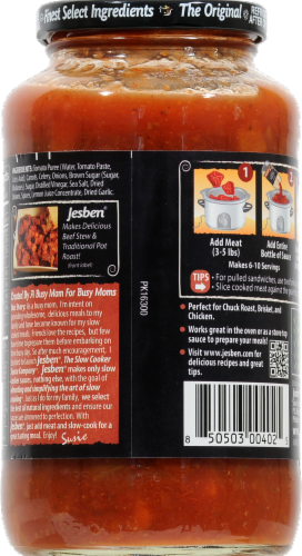 Jesben Slow Cooker Sauce Classic Pot Roast Perspective: back