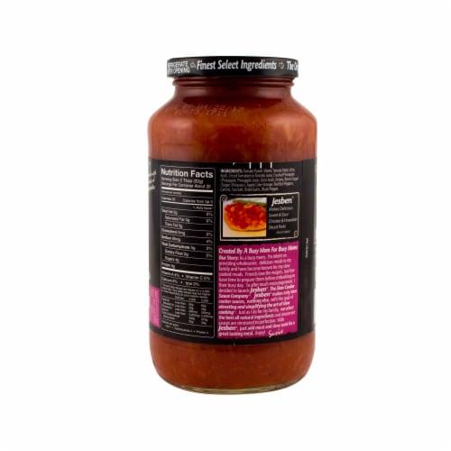 Jesben Slow Cooker Hawaiian Sweet & Sour Sauce Perspective: back