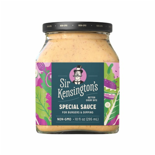 Sir Kensington's Special Sauce Perspective: back