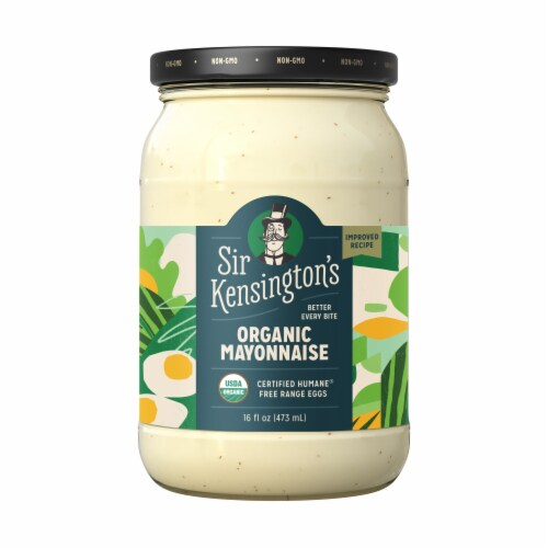 Sir Kensington's Organic Sunflower Oil Mayonnaise Perspective: back