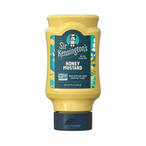 Sir Kensington's Honey Mustard Squeeze Bottle Perspective: back