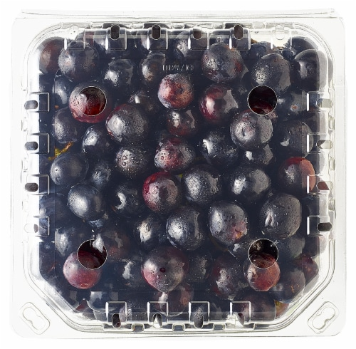 Black Seedless Grapes Perspective: back