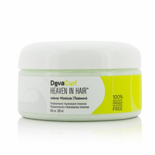 DevaCurl Heaven In Hair (Divine Deep Conditioner  For All Curl Types) 236ml/8oz Perspective: back