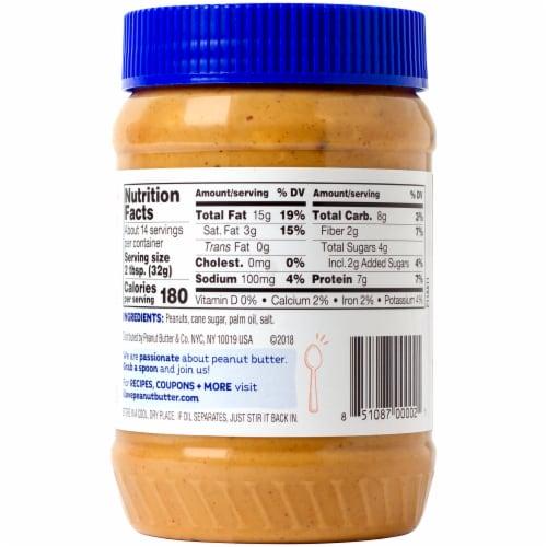 Peanut Butter & Co. Crunch Time Crunchy Peanut Butter Perspective: back