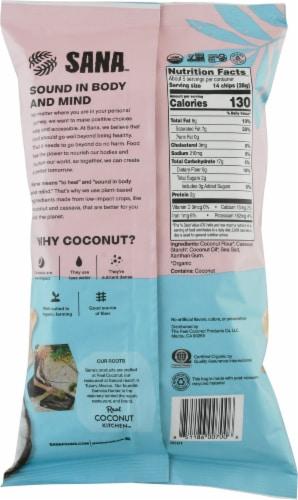 The Real Coconut Sana™ Original Coconut Flour Tortilla Chips Perspective: back