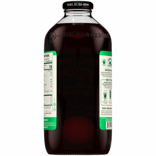 Chameleon Cold-Brew Organic Concentrate Black Coffee Perspective: back
