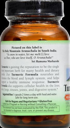 Organic India Turmeric Formula Veg Capsules Perspective: back