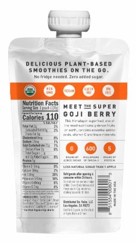 NOKA Organic Sweet Potato & Goji Superfood Smoothie Perspective: back