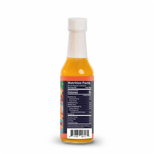 Siete Habanero Hot Sauce Perspective: back