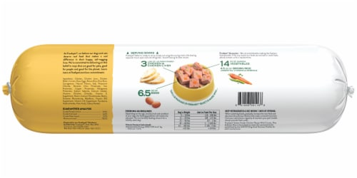 Freshpet Select Tender Chicken Recipe Slice & Serve Roll Dog Food Perspective: back
