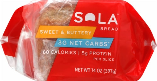 Sola Sweet & Buttery Bread Perspective: back