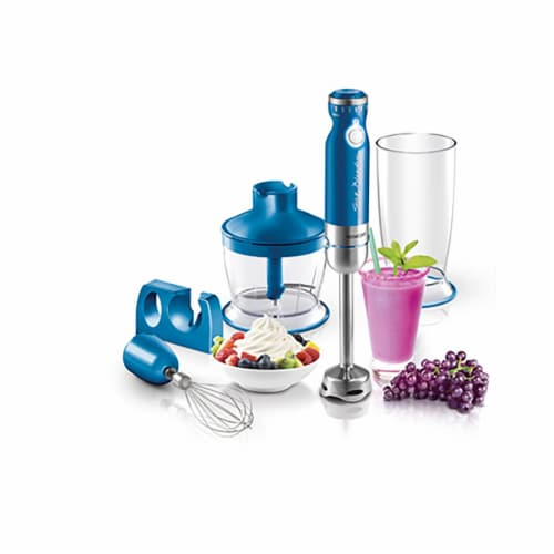 Sencor Stick Blender with Accessories - Blue Perspective: back