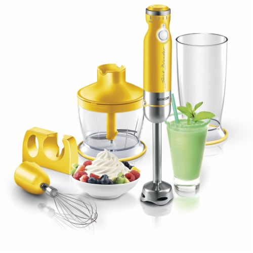 Sencor Stick Blender with Accessories - Yellow Perspective: back