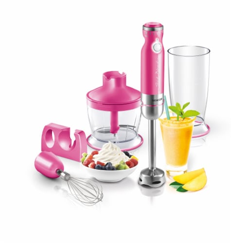Sencor Stick Blender with Accessories - Pink Perspective: back