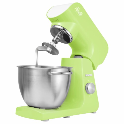 Sencor Stand Mixer with Accessories - Lime Green Perspective: back