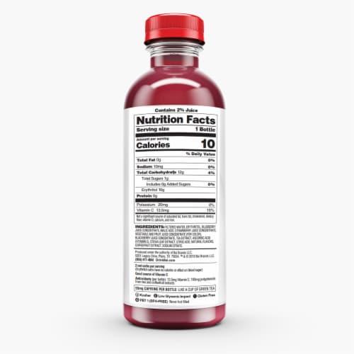 Bai Brasilia Blueberry Antioxidant Infused Beverage Perspective: back
