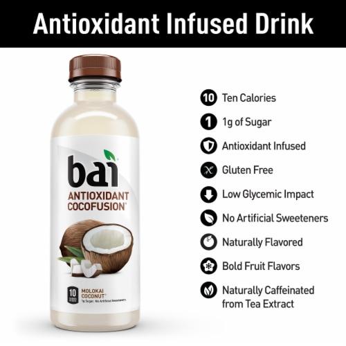 Bai Cocofusion Molokai Coconut Antioxidant Infused Beverage Perspective: back