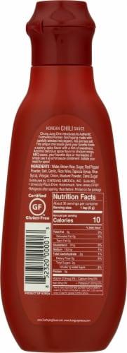 Chung Jung One Gochujang Korean Chili Sauce Perspective: back