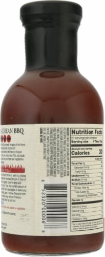 Chung Jung One Premium Spicy Korean BBQ Sauce Perspective: back