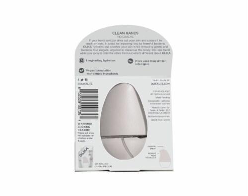 Olika Fragrance Free Hydrating Hand Sanitizer Perspective: back
