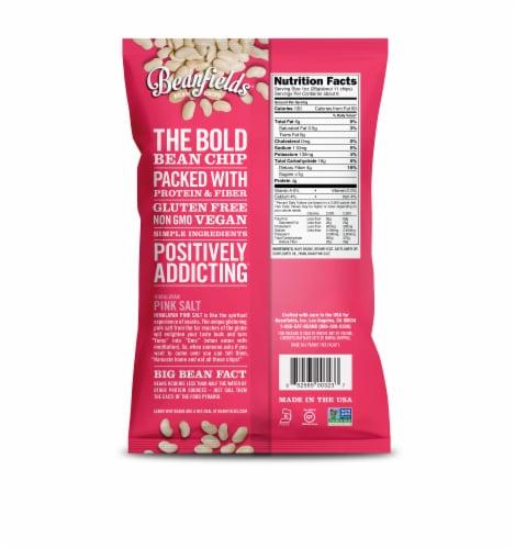 Beanfields Gluten Free White Bean with Sea Salt Bean Chips Perspective: back