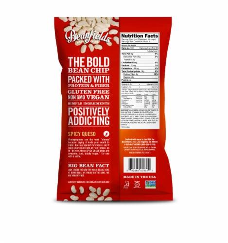 Beanfields Himalayan Sea Salt + Vinegar Bean Chips Perspective: back