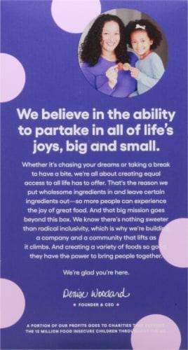 Partake Foods Birthday Cake Cookies Perspective: back