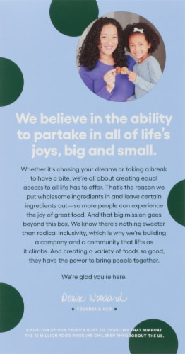 Partake Foods Soft Baked Cookie Butter Cookies Perspective: back