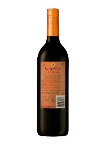 Campo Viejo Reserva Red Wine Blend Perspective: back