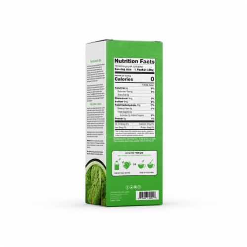 Ujido Sweet Matcha Green Tea Powder Perspective: back