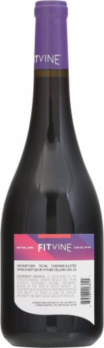 Fitvine Pinot Noir Red Wine Perspective: back