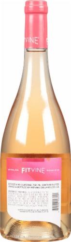 Fitvine Rose Wine Perspective: back