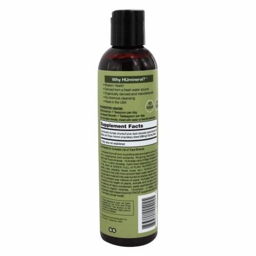 HU Mineral™ Humic-Fulvic Acid Minerals plus Immune Boost Raw Liquid Perspective: back