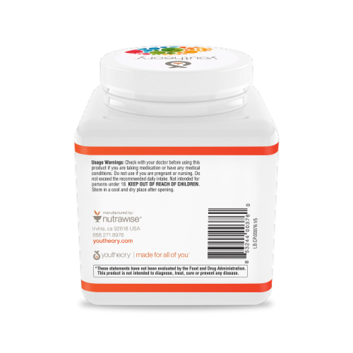 Youtheory® Vanilla Collagen Powder Perspective: back