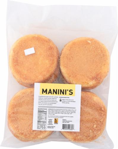 Manini's Gluten Free Hamburger Buns Perspective: back
