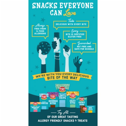 Enjoy Life® Gluten-Free Snickerdoodle Soft Baked Cookies Perspective: back