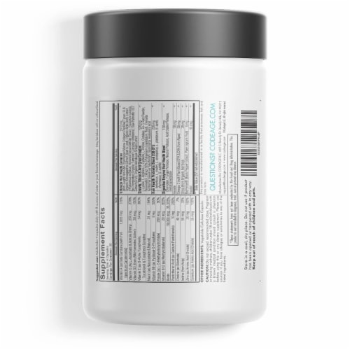 Codeage Hair Vitamins Beauty Supplement Perspective: back