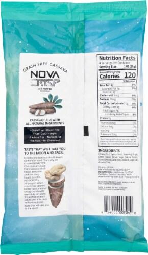 NOVA CRISP Grain Free Maui Onion Cassava Crisps Perspective: back