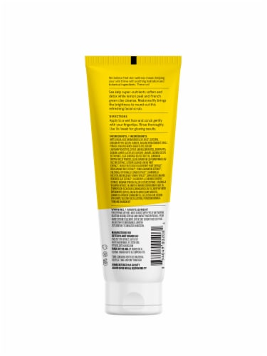 Acure Brightening Facial Scrub Perspective: back