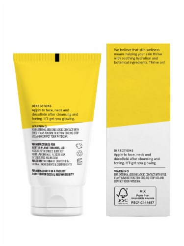 Acure Brightening Day Cream Perspective: back